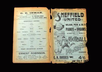 Sheff Utd v West Brom 11.04.1898 (Foulkes)