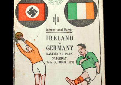Ireland v Germany 17.10.1936