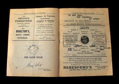 Stoke v Bolton 10.04.1939