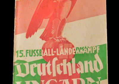 Germany v Hungary 07.04.1940