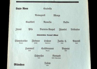 Bayern v Lazio 22.09.1940
