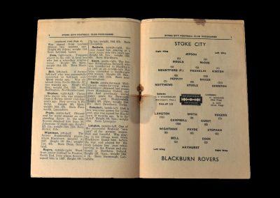 Stoke v Blackburn 21.12.1946