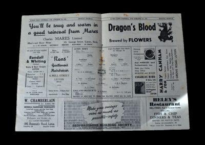 Luton v England Amateur 11 17.10.1955 - Olympic Trial