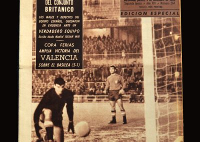 Spain v England 0-2 08.12.1965 (Where it all clicked)