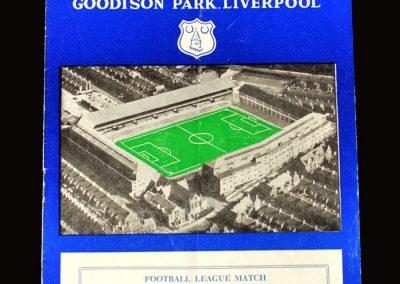 Man Utd v Everton 04.09.1957