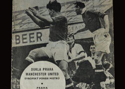 Man Utd v Dukla Prague 04.12.1957