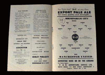 Man Utd v Birmingham 07.12.1957
