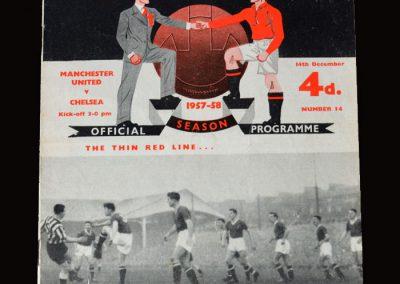 Man Utd v Chelsea 14.12.1957