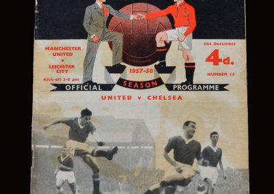 Man Utd v Leicester 21.12.1957