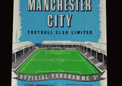 Man Utd v Man City 28.12.1957