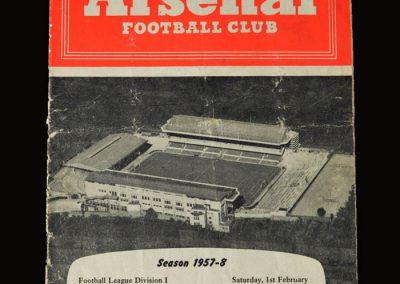 Man Utd v Arsenal 01.02.1958