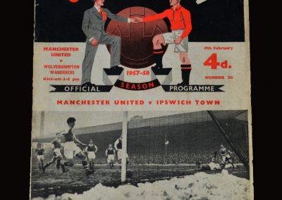 Man Utd v Wolves 08.02.1958 postponed because of the tragedy