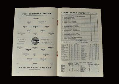Man Utd v West Brom 01.03.1958 - FA Cup 6th Round