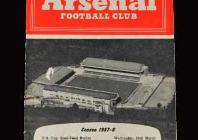 Man Utd v Fulham 26.03.1958 - FA Cup Semi Final Replay