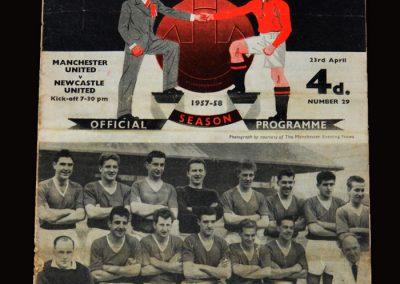 Man Utd v Newcastle 23.04.1958