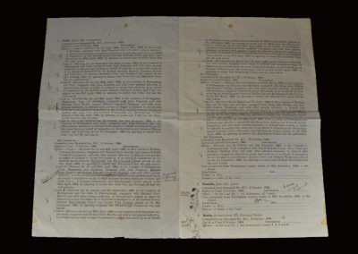 The Indictments - Nottingham Assizes 11.01.1965