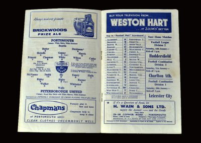 Portsmouth v Peterborough 07.01.1961 - FA Cup 3rd Round (a controversial error from Dick)