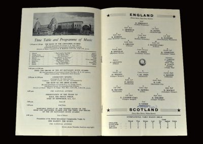 England v Scotland 15.04.1961 (Peter is part of a great England 9-3 win)