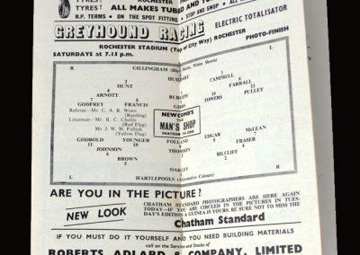 Gillingham v Hartlepool 30.03.1963