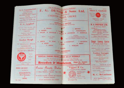 Crewe v Hartlepool 20.04.1963 (3rd indictment Count 3)
