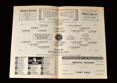 Coventry v Brighton 20.04.1963