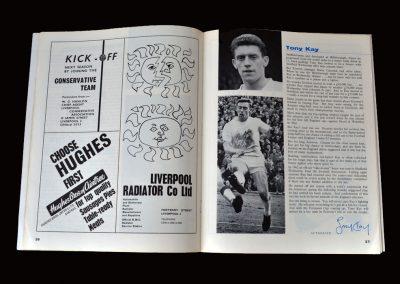 Everton v Fulham 11.05.1963 (Tony wins the League)
