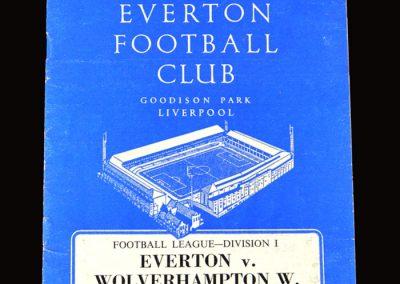 Everton v Wolves 11.04.1964
