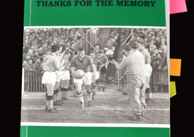 Plymouth Argyle - Thanks for the Memory - Steve Rhodes