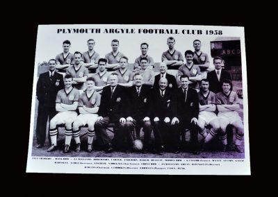 Plymouth Argyle Team Photo 1958