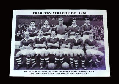 Charlton Athletic Team Photo 1956