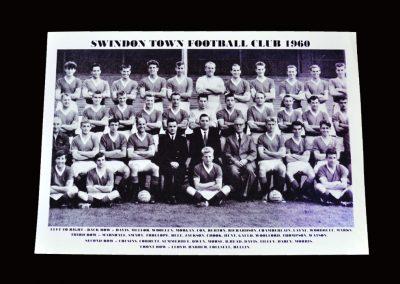 Swindon Town Team Photo 1960