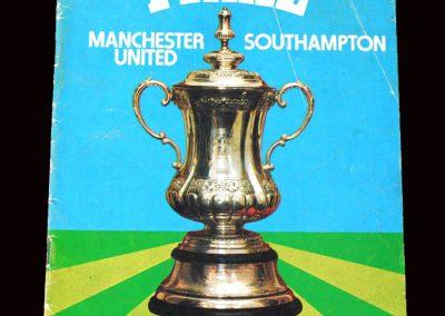 Man Utd v Southampton 01.05.1976 - FA Cup Final