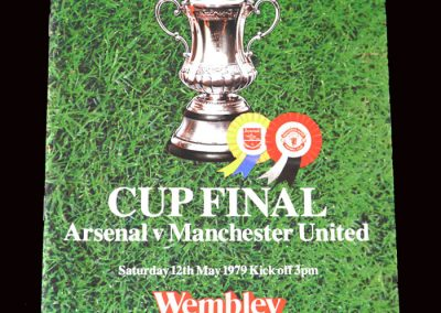 Arsenal v Man Utd 12.05.1979 - FA Cup Final
