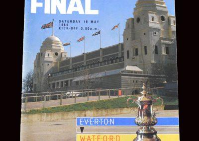 Everton v Watford 19.05.1984 - FA Cup Final