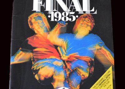 Everton v Man Utd 18.05.1985 - FA Cup Final