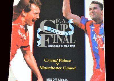 Man Utd v Crystal Palace 17.05.1990 - FA Cup Final Replay