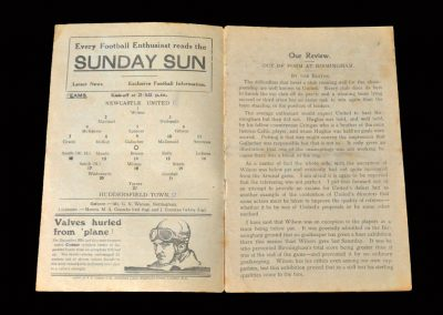 Newcastle v Huddersfield 15.04.1927 (Newcastle Title Win)