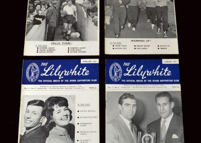 The Lilywhite - January 1961 - April 1961