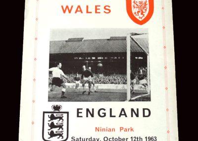Wales v England 12.10.1963 (Pirate)