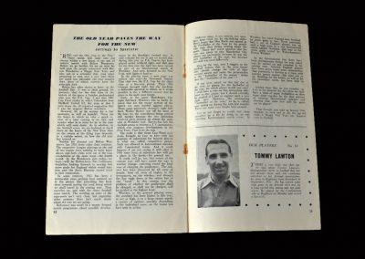 Arsenal v Bolton 31.12.1955 (Lawton Feature)