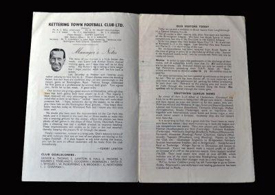 Kettering Reserves v Brush Sports 08.09.1956
