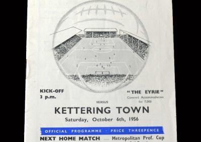 Kettering v Bedford 06.10.1956