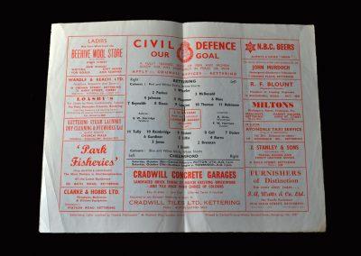 Kettering v Chelmsford 13.10.1956