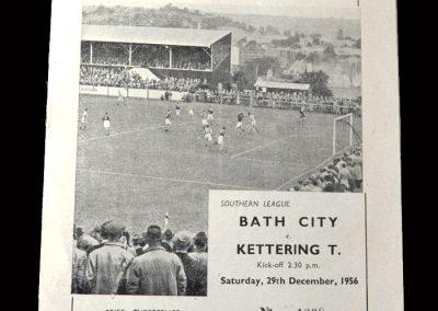 Kettering v Bath 29.12.1956