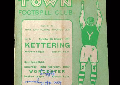 Kettering v Yeovil 09.02.1957