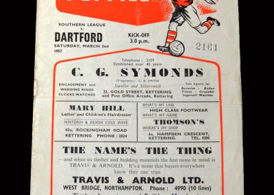Kettering v Dartford 02.03.1957