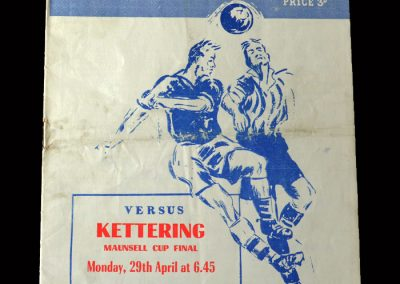 Kettering v Peterborough 29.04.1957 - Maunsell Cup Final (Lawtons last goal)