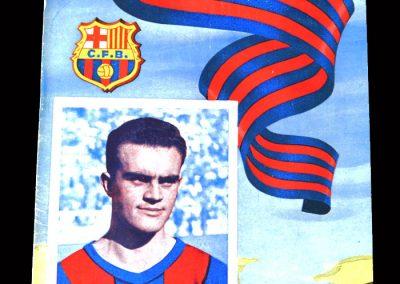Barcelona v Atletico 09.10.1954