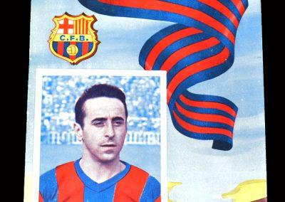Barcelona v Santander 06.11.1954