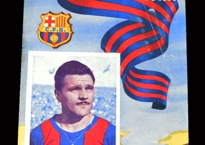 Barcelona v Celta Vigo 15.01.1955